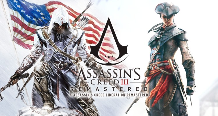 Assassins Creed 3 and Liberation Remastered