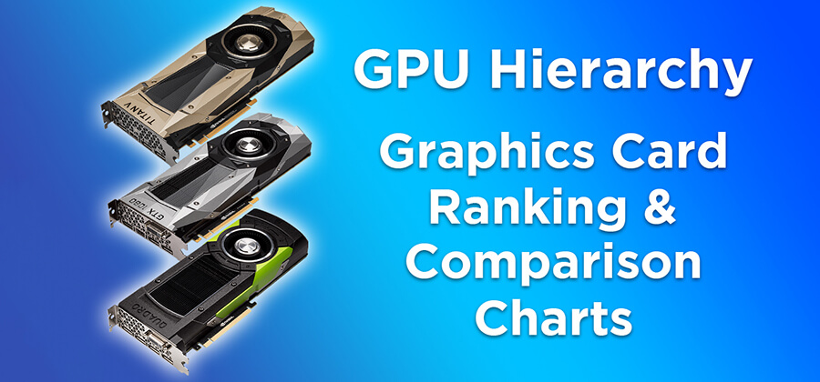 GPU Hierarchy 2021 – Graphics Card Ranking and Comparison Charts