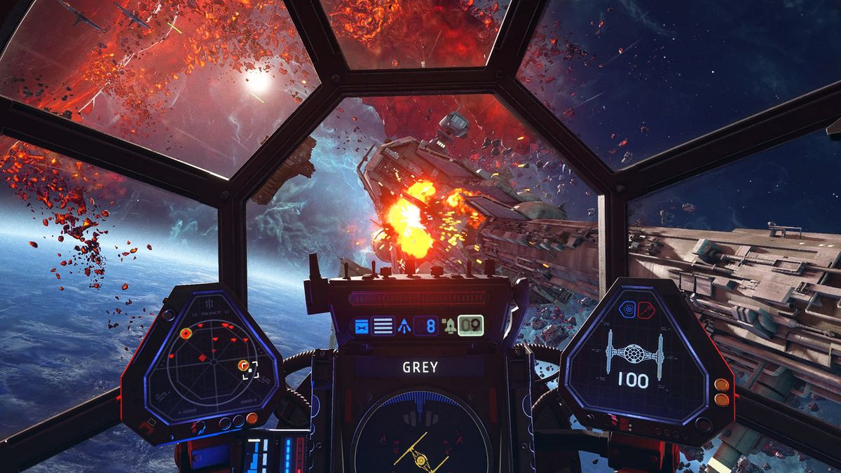 """Star Wars: Squadrons will have a """"hardcore mode"""" that turns it into a flight sim"""
