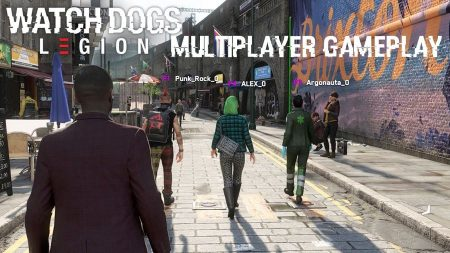 Watch Dogs Legion's Multiplayer (Co-op) mode is now live on PC